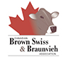 Canadian Brown Swiss and Braunvieh Logo