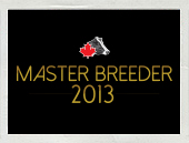 Joining the Ranks – 2013 Master Breeders Revealed
